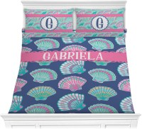 Preppy Sea Shells Comforter Set (Personalized