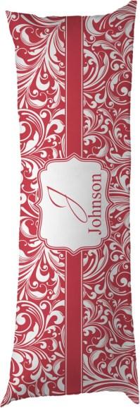 Swirl Body Pillow Case (Personalized) - YouCustomizeIt