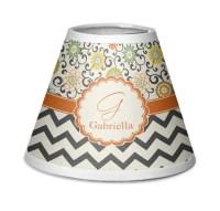 Swirls, Floral & Chevron Chandelier Lamp Shade ...