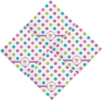 Polka Dot Butterfly Napkins (Set of 4) (Personalized ...