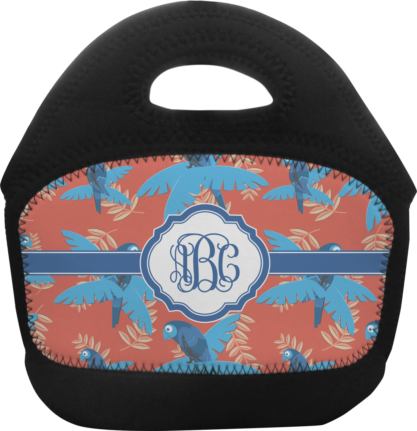 Blue Parrot Toddler Lunch Tote Personalized - Youcustomizeit