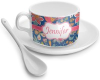 Owl & Hedgehog Tea Cup - Single (Personalized ...