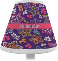 Simple Floral Chandelier Lamp Shade (Personalized ...