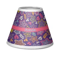 Simple Floral Chandelier Lamp Shade (Personalized