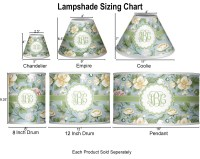 Vintage Floral Chandelier Lamp Shade (Personalized ...