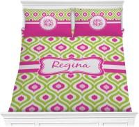 Ogee Ikat Comforter Set - Full / Queen (Personalized ...