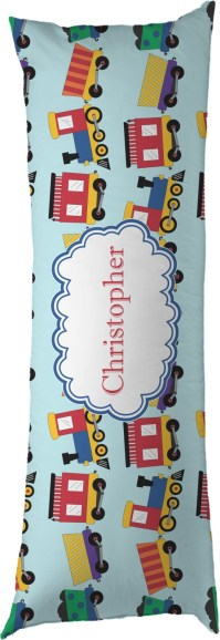 Trains Body Pillow Case (Personalized) - YouCustomizeIt