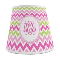 Pink & Green Chevron Empire Lamp Shade (Personalized