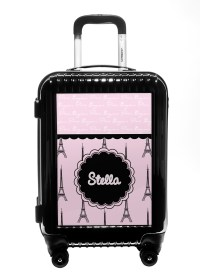 Paris & Eiffel Tower Carry On Hard Shell Suitcase ...