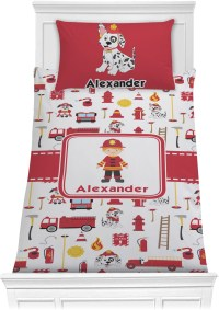 Firefighter Comforter Set - Twin (Personalized ...