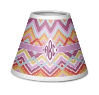 Ikat Chevron Chandelier Lamp Shade (Personalized ...