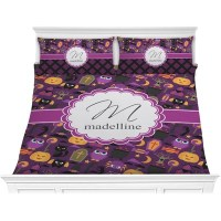 Halloween Comforter Set - King (Personalized) - YouCustomizeIt