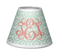 Monogram Chandelier Lamp Shade (Personalized) - YouCustomizeIt
