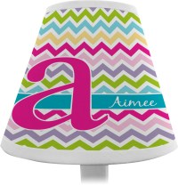 Colorful Chevron Chandelier Lamp Shade (Personalized