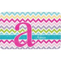 Colorful Chevron Bath Mat (Personalized)