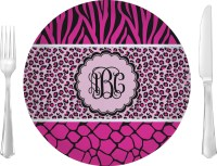 Triple Animal Print Dinner Plate (Personalized ...