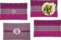 Triple Animal Print Rectangular Dinner Plate (Personalized ...