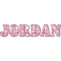 Pink Camo Name/Text Decal - Large (Personalized ...