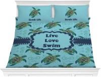 Sea Turtles Comforter Set - King (Personalized ...