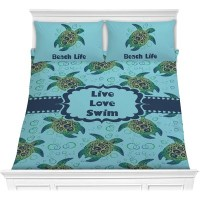 Sea Turtles Comforter Set (Personalized)