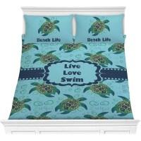 Sea Turtles Comforter Set (Personalized) - YouCustomizeIt