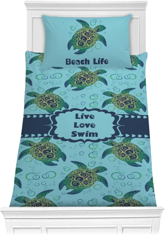 Sea Turtles Comforter Set