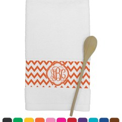 Personalized Kitchen Towels Aid Mixer Deals Chevron Towel Youcustomizeit