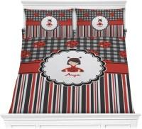 Ladybugs & Stripes Comforter Set - Full / Queen ...