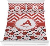 Ladybugs & Chevron Comforter Set - Full / Queen ...