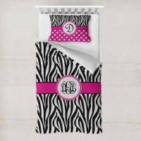 Zebra Print Duvet Cover Set