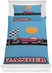 Race Car Comforter Set (Personalized)