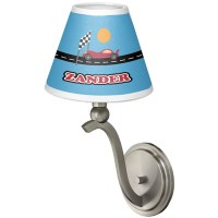 Race Car Chandelier Lamp Shade (Personalized) - YouCustomizeIt