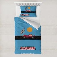 Race Car Duvet Cover Set - Toddler (Personalized ...