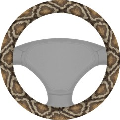 Animal Skin Chair Covers Recovering Cushions Snake Steering Wheel Cover Personalized