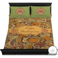 Thanksgiving Duvet Cover Set (Personalized) - YouCustomizeIt