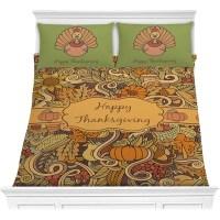 Thanksgiving Comforter Set (Personalized) - YouCustomizeIt