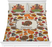 Traditional Thanksgiving Comforter Set (Personalized ...