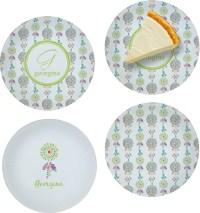 Dreamcatcher Set of 4 Glass Appetizer / Dessert Plate 8 ...