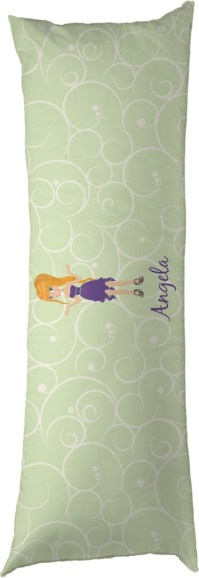 Custom Character (Woman) Body Pillow Case (Personalized