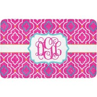 Colorful Trellis Bath Mat (Personalized) - YouCustomizeIt