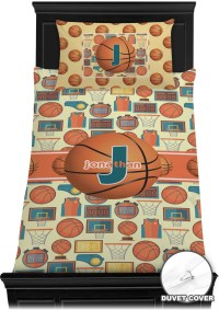 Basketball Duvet Cover Set (Personalized) - YouCustomizeIt