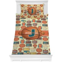 Basketball Comforter Set - Twin (Personalized ...