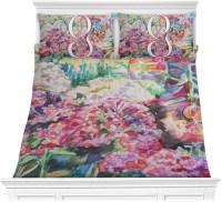 Watercolor Floral Comforter Set - YouCustomizeIt