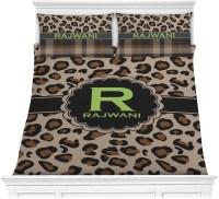 Granite Leopard Comforter Set - Full / Queen (Personalized ...