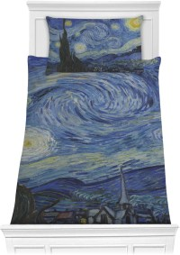 The Starry Night (Van Gogh 1889) Comforter Set ...