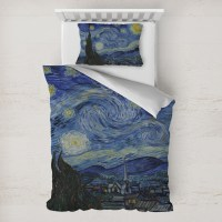 The Starry Night (Van Gogh 1889) Duvet Cover Set - Toddler ...