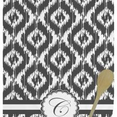 Personalized Kitchen Towels Island Designs Ikat Towel Full Print
