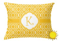 Trellis Outdoor Throw Pillow (Rectangular) (Personalized