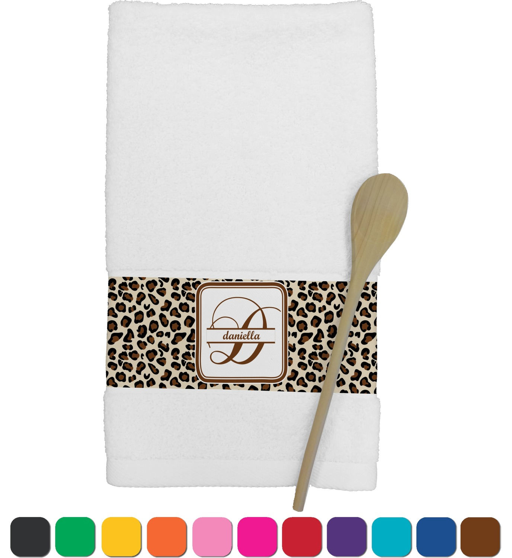 personalized kitchen towels kids pretend leopard print towel youcustomizeit
