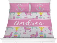 Llamas Comforter Set